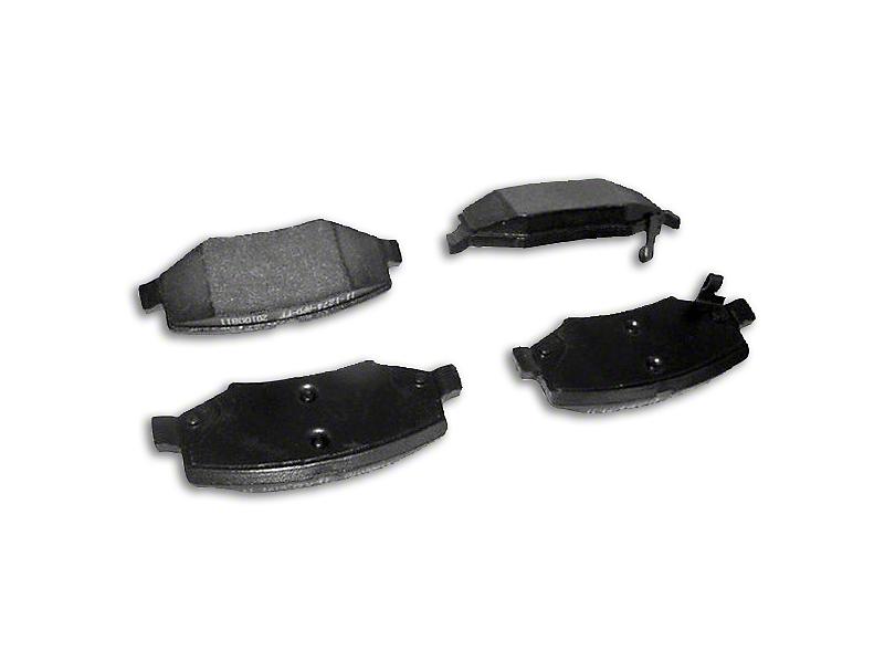 Brake Pads - Rear Pair (07-18 Jeep Wrangler JK)