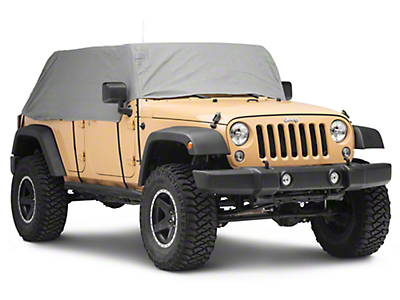 RT Off-Road Cab Only Cover - Gray (07-18 Jeep Wrangler JK 4 Door)