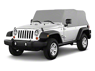 RT Off-Road Cab Only Cover - Gray (92-06 Wrangler YJ & TJ, Excluding Unlimited)
