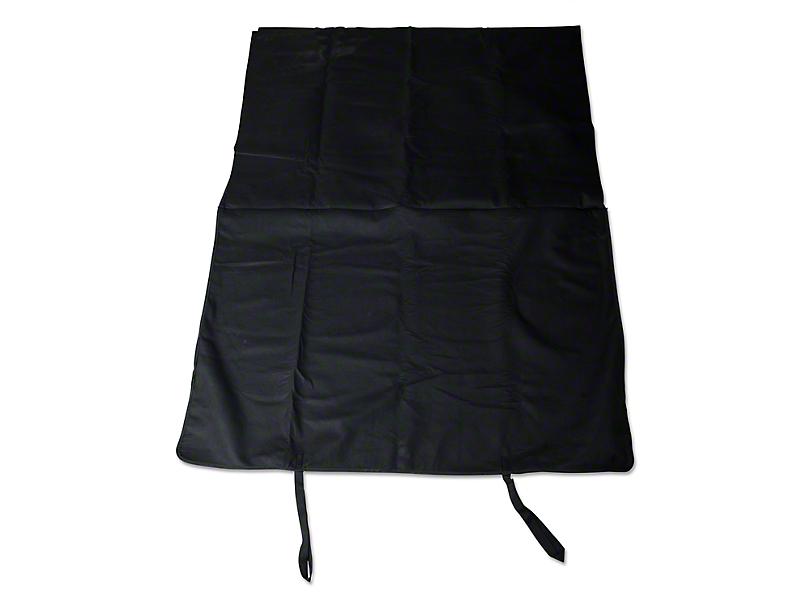 Rugged Ridge Window Storage Sport Bar Bag - Black (07-18 Jeep Wrangler JK)