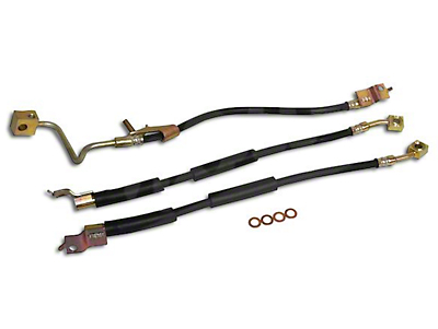 Crown Automotive Front & Rear Brake Hose Kit (97-06 Wrangler TJ)
