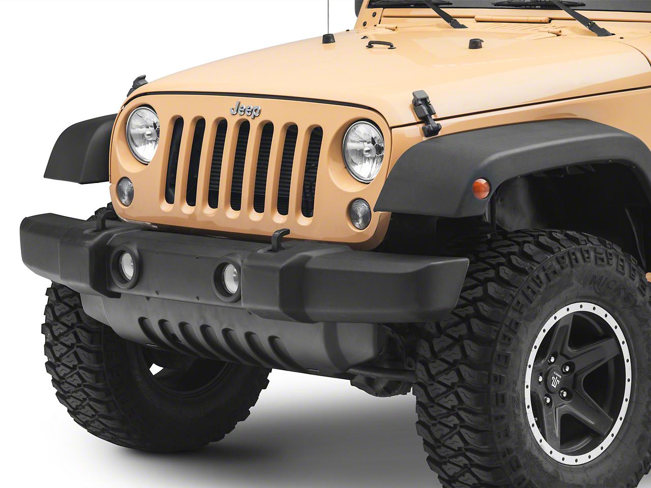 Crown Automotive Front Bumper Air Dam (07-18 Jeep Wrangler JK)