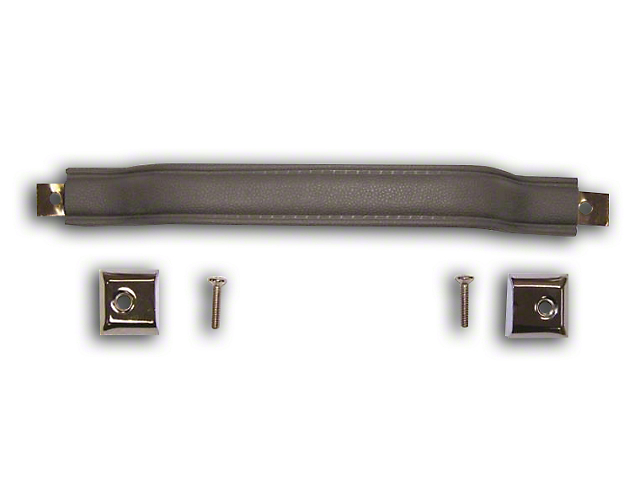 Inside Door Pull Handle - Black (87-95 Jeep Wrangler YJ)