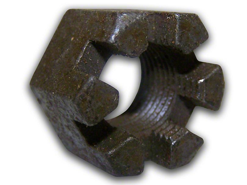Lower Ball Joint Slotted Nut (87-18 Jeep Wrangler YJ, TJ & JK)