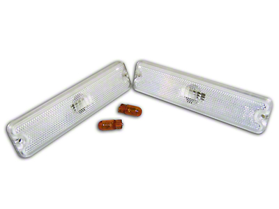 RT Off-Road Side Marker Light Kit - Clear (87-95 Wrangler YJ)