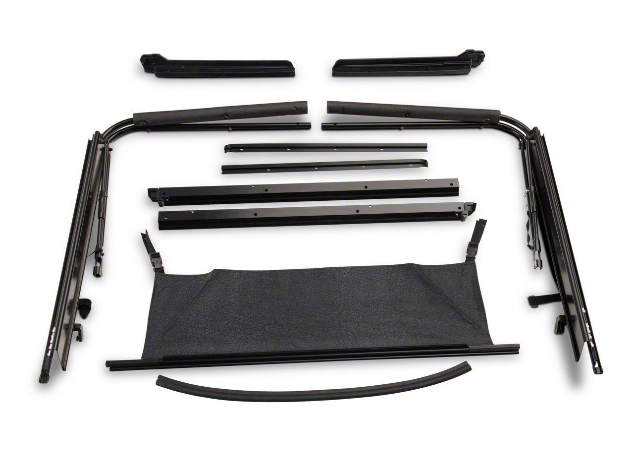 RT Off-Road Soft Top Hardware Kit (87-95 Jeep Wrangler YJ)