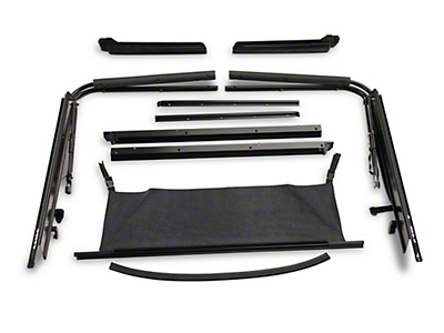 RT Off-Road Soft Top Hardware Kit (87-95 Wrangler YJ)