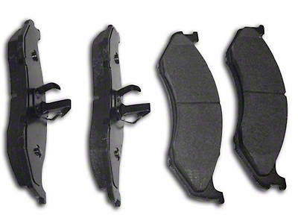 Crown Automotive Titanium Disc Brake Pads - Front Pair (90-06 Wrangler YJ & TJ)