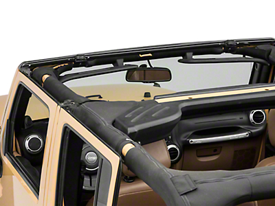 RT Off-Road Windshield Channel (07-18 Jeep Wrangler JK)