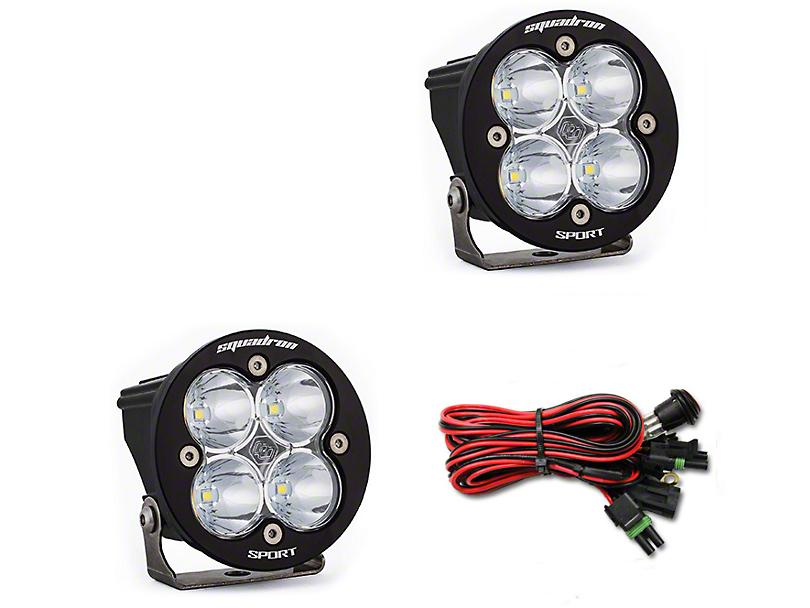 Baja Designs Squadron-R Sport LED Light - Spot Beam - Pair