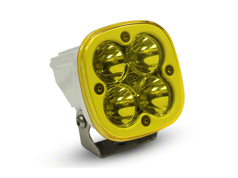 Baja Designs Squadron Sport Amber/White LED Light - Spot Beam