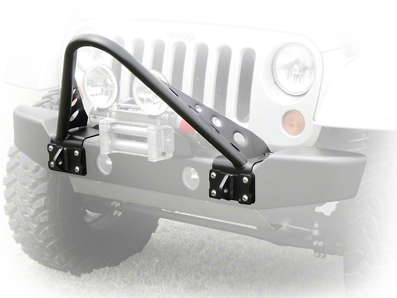 LoD Offroad Armor Lite Bolt-On Stringer Guard - Bare Steel (07-18 Jeep Wrangler JK)