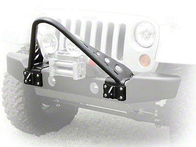 LoD Offroad Armor Lite Bolt-On Stringer Guard - Bare Steel (07-18 Wrangler JK; 2018 Wrangler JL)