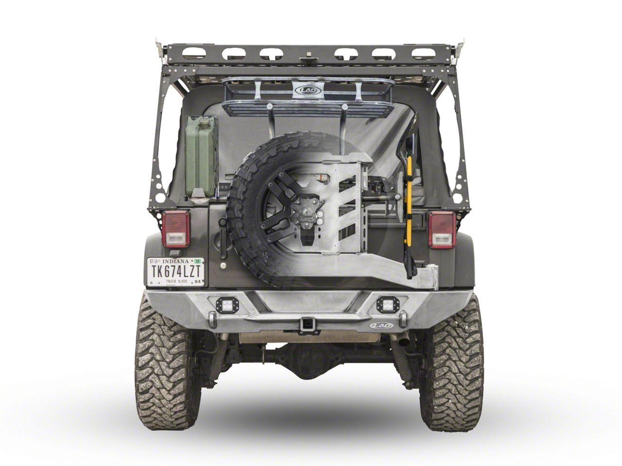 LoD Offroad Destroyer Trail Rack - Textured Black (07-18 Jeep Wrangler JK)