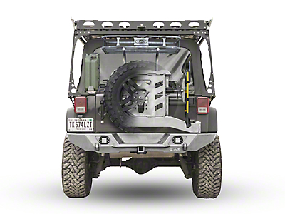 LoD Offroad Destroyer Trail Rack - Textured Black (07-18 Wrangler JK)