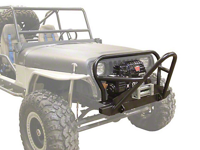 LoD Offroad Competition Series Front Winch Bumper - Bare Steel (97-06 Wrangler TJ)