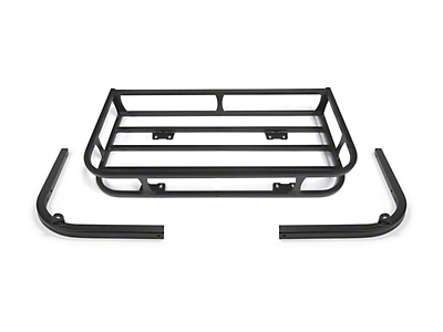 LoD Offroad Xpedition Series Trail Rack - Textured Black (97-06 Wrangler TJ)