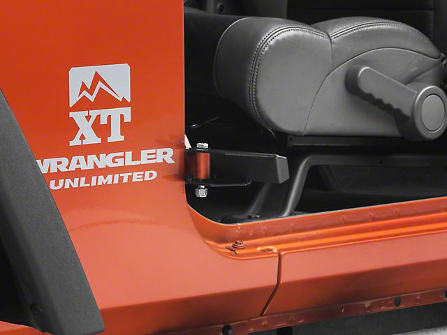 M.O.R.E. Exterior Peg Pedal (07-18 Jeep Wrangler JK)