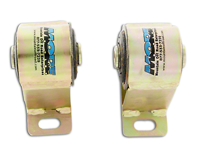 Bomb Proof Motor Mounts for 1 in. Body Lift (87-90 2.5L Jeep Wrangler YJ)
