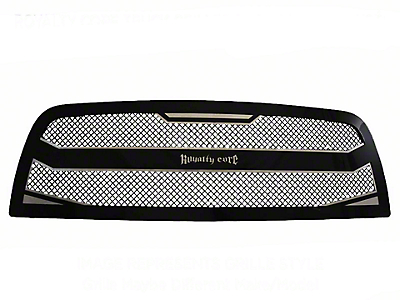 Royalty Core RC4 Layered Grille - Black (97-06 Wrangler TJ)