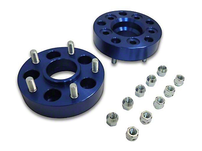 RT Off-Road 1.5 in. Blue Wheel Adapters - 5x4.5 to 5x5 (87-06 Jeep Wrangler YJ & TJ)