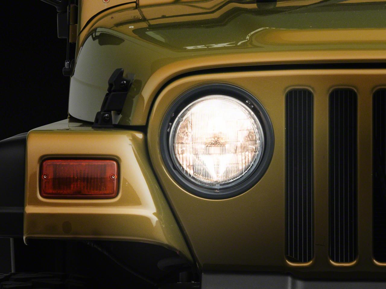 Crown Automotive 7 in. Round Headlight (97-06 Jeep Wrangler TJ)