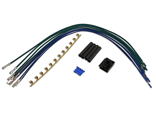 jeep wrangler blower motor resistor repair harness (97-01 jeep wrangler tj)
