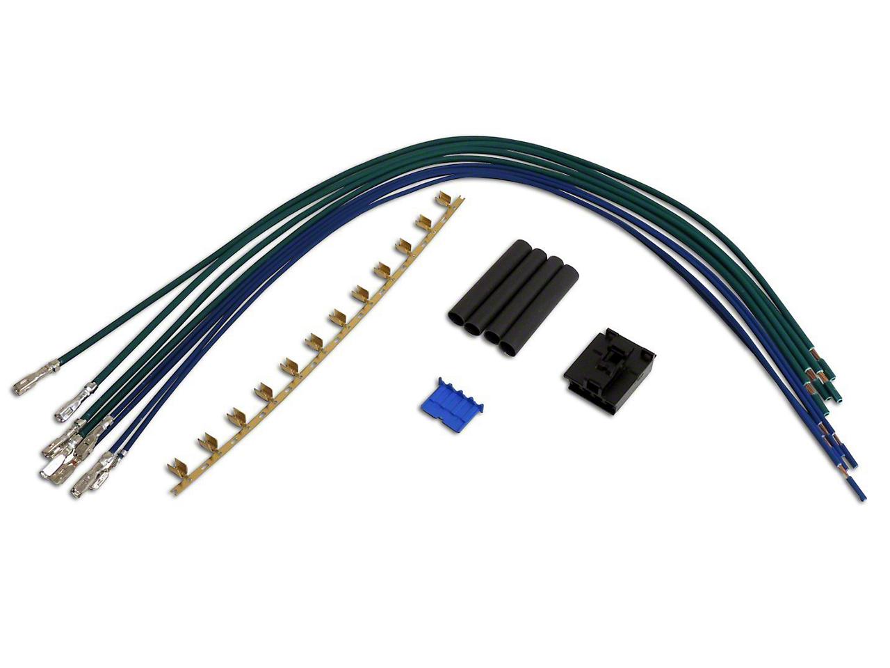 Crown Automotive Blower Motor Resistor Repair Harness (97-01 Wrangler TJ)
