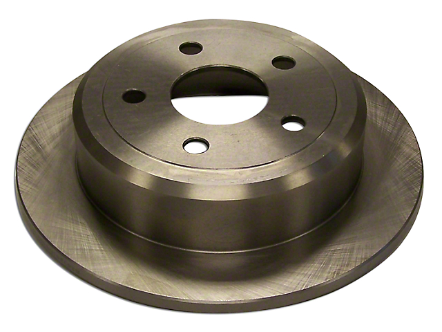 Brake Rotor; Rear (07-18 Jeep Wrangler JK)