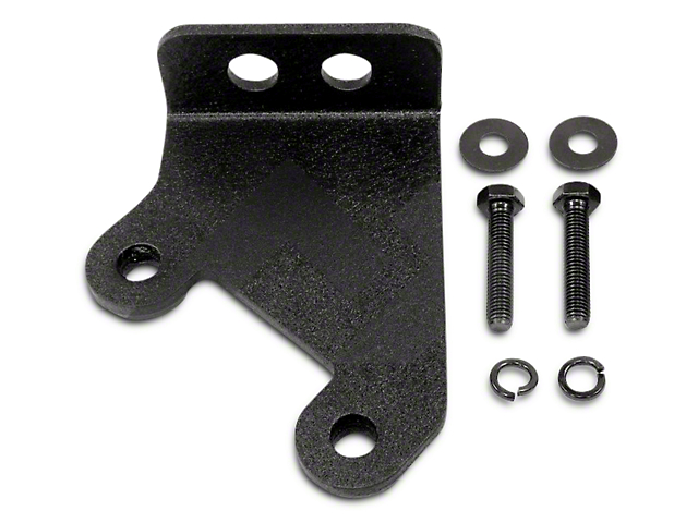 RT Off-Road CB Antenna Mount - Black Textured (07-18 Wrangler JK)