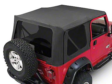 RT Off-Road Complete Soft Top - Black Diamond (97-06 Wrangler TJ w/ Full Steel Doors)