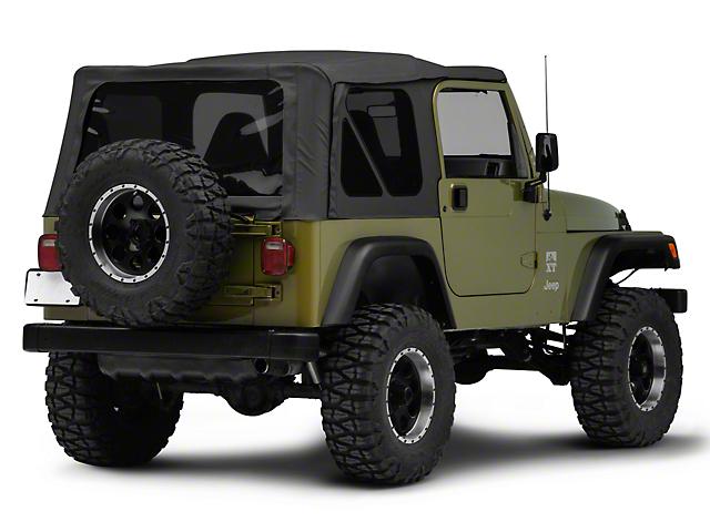 Corner Panels - Black Primer (97-06 Jeep Wrangler TJ)