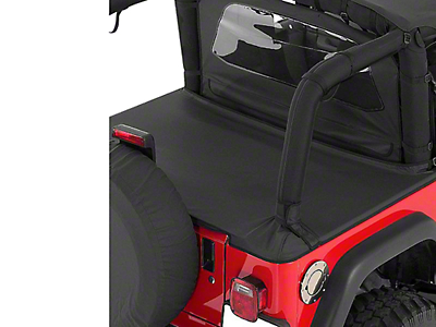 RT Off-Road Cover All Kit - Black Denim (92-95 Jeep Wrangler YJ)