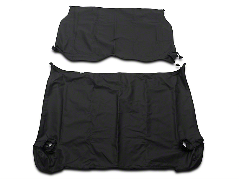 Cover All Kit - Black Diamond (97-06 Jeep Wrangler TJ, Excluding Unlimited)