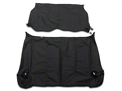 RT Off-Road Cover All Kit - Black Diamond (97-06 Jeep Wrangler TJ, Excluding Unlimited)