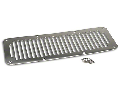 RT Off-Road Cowl Vent Cover - Stainless (87-95 Wrangler YJ)