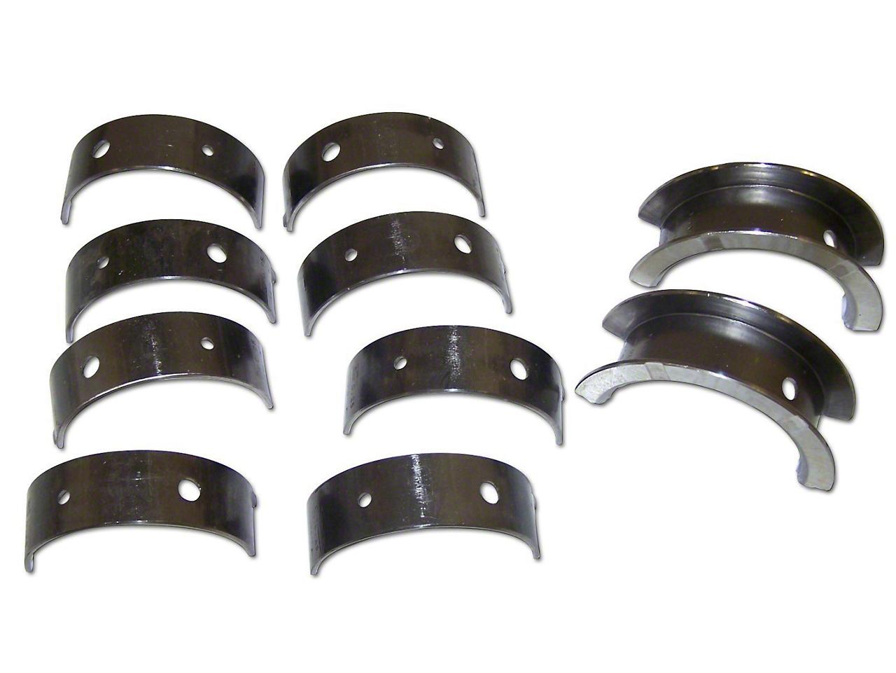 Crown Automotive Crankshaft Main Bearing Set - 0.25mm Undersize (03-06 2.4L Wrangler TJ)