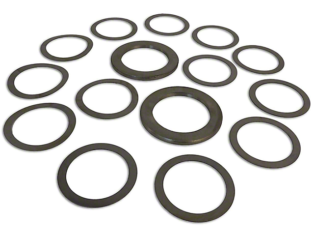 Dana 35 Rear Axle Differential Carrier Shim Kit (87-07 Jeep Wrangler YJ, TJ & JK)