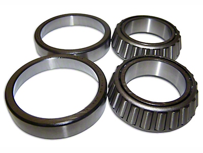 Crown Automotive Dana 44 Differential Carrier Bearing Kit (07-18 Wrangler JK w/ Tru-Lok Differential)