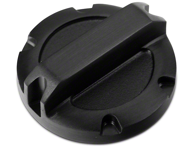 Rugged Ridge Black Billet Aluminum Brake Master Cylinder Cap (97-19 Jeep Wrangler TJ, JK & JL)