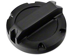 Rugged Ridge Black Billet Aluminum Brake Master Cylinder Cap (97-20 Jeep Wrangler TJ, JK & JL)