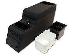 Deluxe Locking Center Console; Black Denim (87-95 Jeep Wrangler YJ)