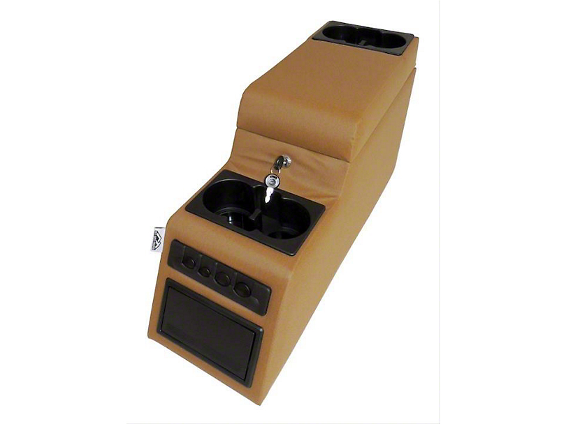 Deluxe Locking Center Console - Spice (87-95 Jeep Wrangler YJ)