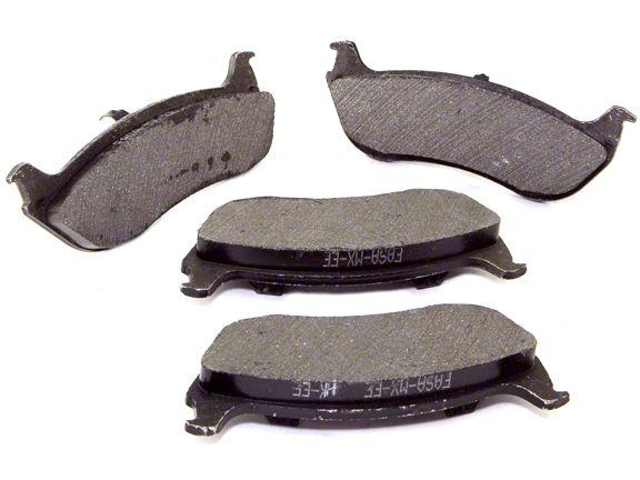 Omix-ADA Disc Brake Pads - Rear Pair (03-06 Jeep Wrangler TJ)