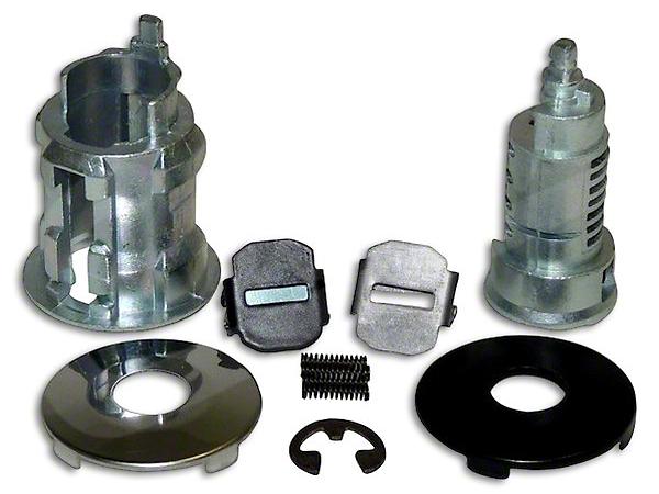 Crown Automotive Door or Tailgate Lock Cylinder (02-18 Wrangler TJ & JK)