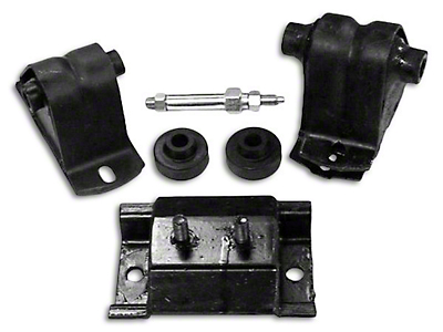 Omix-ADA Engine Mount Kit (91-95 2.5L Jeep Wrangler YJ)