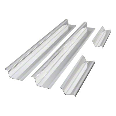 RT Off-Road Entry Guard Set - Stainless Steel (07-18 Wrangler JK 4 Door)