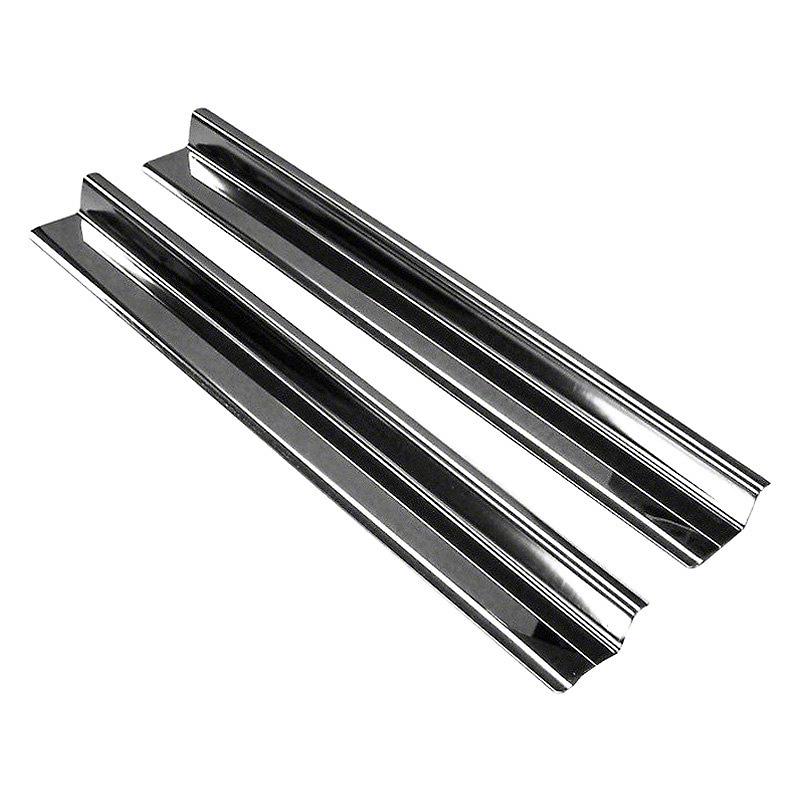 RT Off-Road Entry Guard Set - Stainless Steel (07-18 Wrangler JK 2 Door)