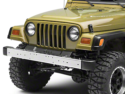 RT Off-Road Front Bumper - Stainless Steel (97-06 Jeep Wrangler TJ)