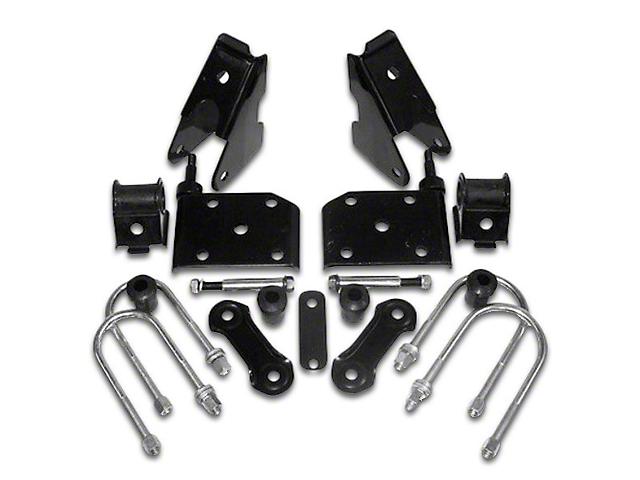 Front Spring Mounting Kit (87-95 Jeep Wrangler YJ)